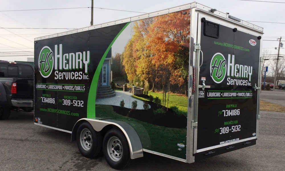 Full Trailer Wraps by Signworks Sportswear in Lockport NY