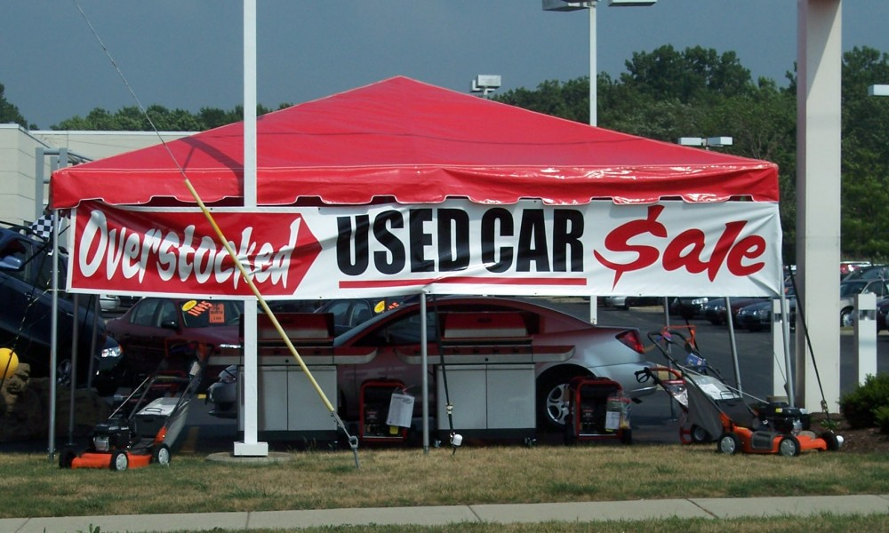 Custom Tents by Signworks Sportswear in Lockport NY