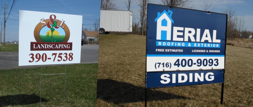 Signworks Sportswear Outdoor Signs