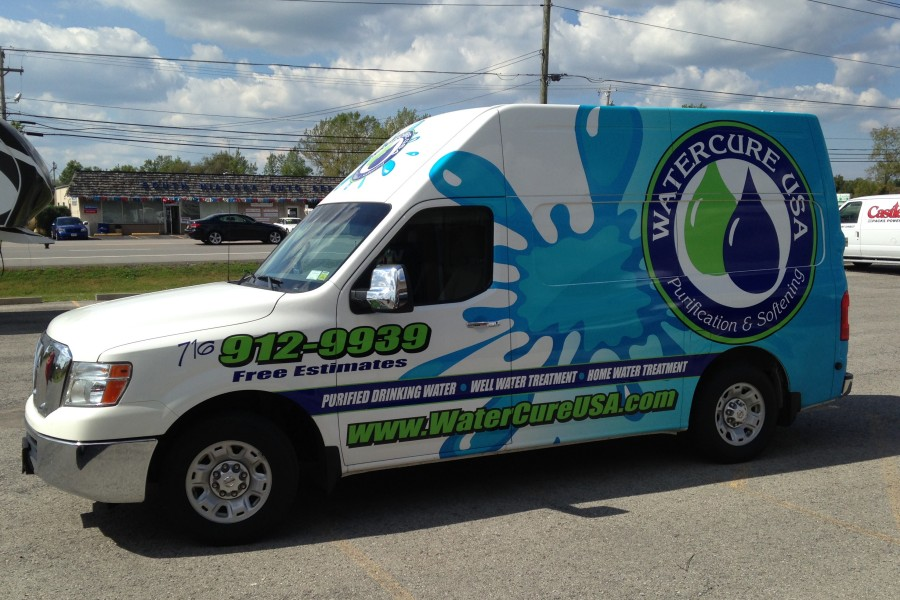 e43cf86640 Custom Vehicle Wraps and Graphics by Signworks Sportswear in Lockport NY