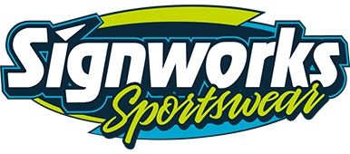 Signworks Sportswear LLC of Lockport, NY