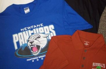 Custom Apparel in Lockport, NY