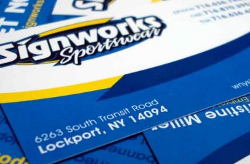 Custom Business Cards in Lockport, NY